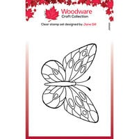Creative Expressions - Clear Photopolymer Stamps - Singles - Mini Wings Tortoiseshell