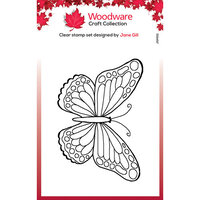 Creative Expressions - Clear Photopolymer Stamps - Singles - Mini Wings Marsh Fritillary