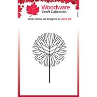 Creative Expressions - Christmas - Woodware - Clear Photopolymer Stamps - Singles - Mini - Round Twiggy Tree