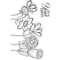 Creative Expressions - Woodware Clear Singles - Clear Photopolymer Stamps - Five In A Row