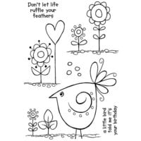 Creative Expressions - Woodware Clear Singles - Clear Photopolymer Stamps - Sweet Tweet