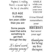 Creative Expressions - Woodware Craft Collection - Clear Photopolymer Stamps - Some People