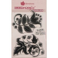 Creative Expressions - Woodware - Clear Acrylic Stamps - Singles - Solid Florals