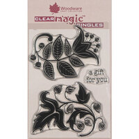 Creative Expressions - Woodware - Clear Photopolymer Stamps - Singles - Solid Florals