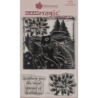 Creative Expressions - Woodware - Clear Photopolymer Stamps - Singles - Hare in the Fields
