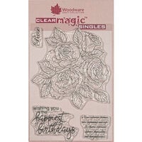 Creative Expressions - Woodware - Clear Photopolymer Stamps - Singles - Classic Rose Bunch