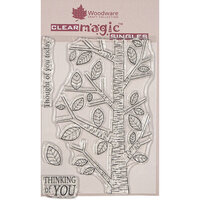 Creative Expressions - Woodware - Clear Photopolymer Stamps - Singles - Silver Birch Tree