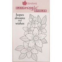 Creative Expressions - Woodware - Clear Photopolymer Stamps - Sunny Daisies