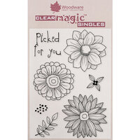 Creative Expressions - Woodware - Clear Acrylic Stamps - Picked for You