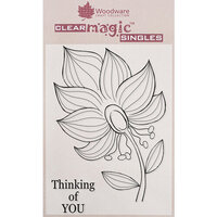 Creative Expressions - Woodware - Clear Acrylic Stamps - Bold Blooms - Tanya
