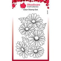 Creative Expressions - Woodware - Clear Photopolymer Stamps - Five Daisies