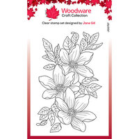 Creative Expressions - Woodware Craft Collection - Clear Photopolymer Stamps - Garden Spray