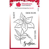 Creative Expressions - Woodware - Clear Photopolymer Stamps - Lily Sketch