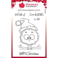 Creative Expressions - Woodware Craft Collection - Christmas - Festive Fuzzies - Clear Photopolymer Stamps - Robin