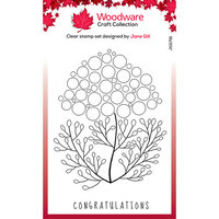 Creative Expressions - Woodware - Clear Photopolymer Stamps - Singles - Bubble Bloom Carrie