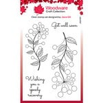 Creative Expressions - Woodware - Clear Photopolymer Stamps - Singles - Bubble Bloom Abbie