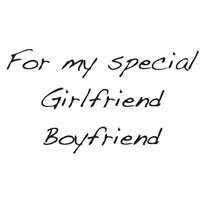 Creative Expressions - Woodware - Clear Photopolymer Stamps - Singles - My Girlfriend Boyfriend