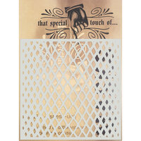 Creative Expressions - That Special Touch Collection - Stencil - 6 x 6 - Bend It
