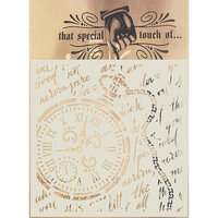 Creative Expressions - That Special Touch Collection - Stencil - 6 x 6 - Timeless Classic