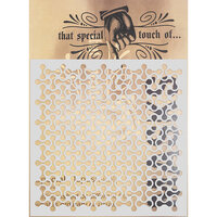 Creative Expressions - That Special Touch Collection - Stencil - 6 x 6 - Connected