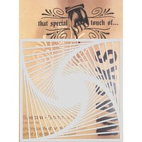 Creative Expressions - That Special Touch Collection - Stencil - 6 x 6 - Falling