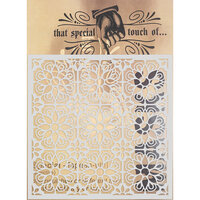 Creative Expressions - That Special Touch Collection - Stencil - 6 x 6 - Taste of Lisbon