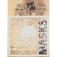 Creative Expressions - That Special Touch Collection - Stencil - 6 x 6 - Beautiful Vista
