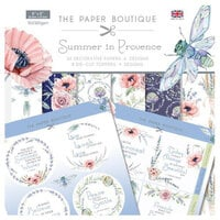 The Paper Boutique - Summer in Provence Collection - Paper Kit
