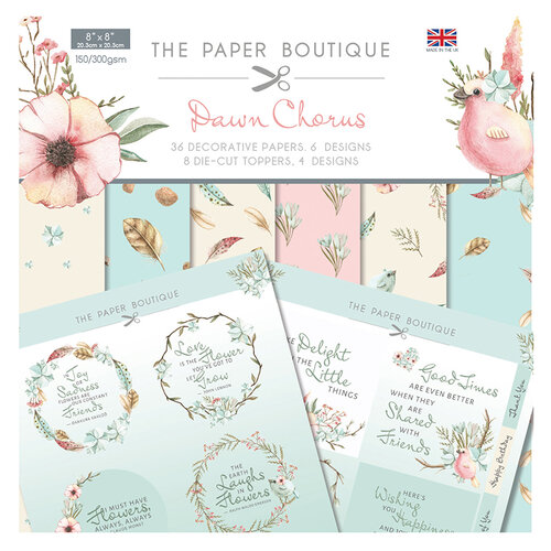 The Paper Boutique - Dawn Chorus Collection - Paper Kit