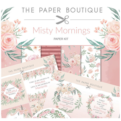The Paper Boutique - Misty Mornings Collection - Paper Kit