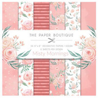 The Paper Boutique - Misty Mornings Collection - 8 x 8 Paper Pad