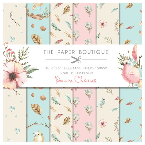 The Paper Boutique - Dawn Chorus Collection - 6 x 6 Paper Pad