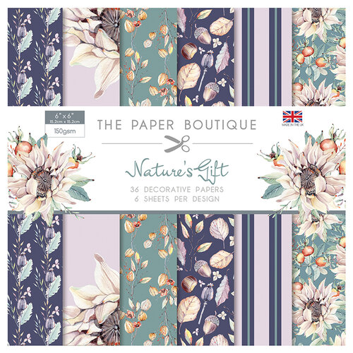 The Paper Boutique - Natures Gift Collection - 6 x 6 Paper Pad