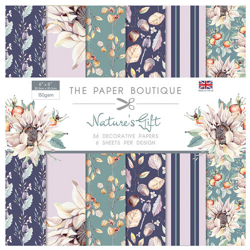 The Paper Boutique - Natures Gift Collection - 8 x 8 Paper Pad