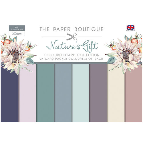 The Paper Boutique - Natures Gift Collection - Colour Card Collection