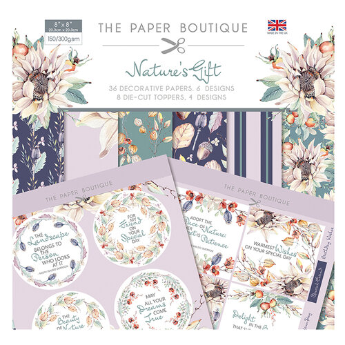 The Paper Boutique - Natures Gift Collection - Paper Kit