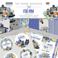 The Paper Boutique - For Him Collection - Paper Kit