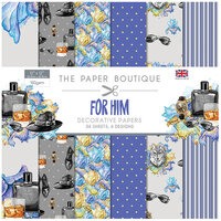The Paper Boutique - For Him Collection - 12 x 12 Paper Pad