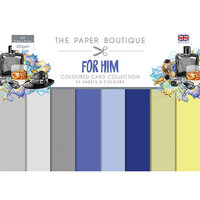The Paper Boutique - For Him Collection - Colour Card Collection