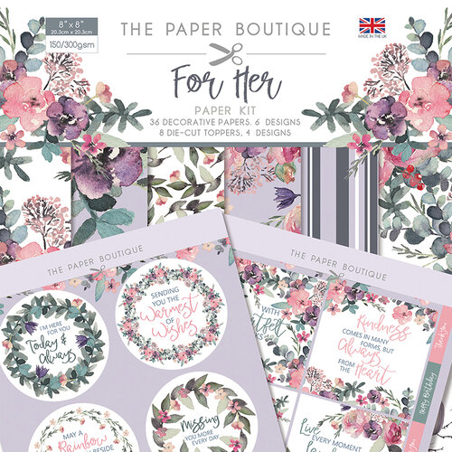 The Paper Boutique - For Her Collection - Paper Kit