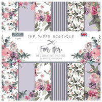 The Paper Boutique - For Her Collection - 12 x 12 Paper Pad