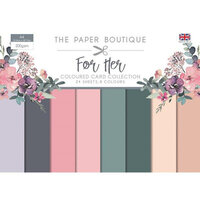 The Paper Boutique - For Her Collection - Colour Card Collection