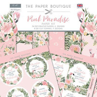 The Paper Boutique - Pink Paradise Collection - Paper Kit