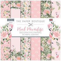 The Paper Boutique - Pink Paradise Collection - 6 x 6 Paper Pad