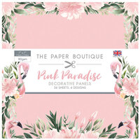 The Paper Boutique - Pink Paradise Collection - 7 x 7 Panel Pad