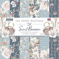 The Paper Boutique - Secret Romance Collection - 12 x 12 Paper Pad