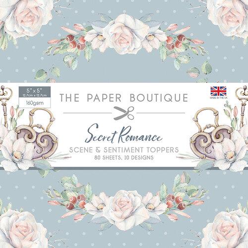 The Paper Boutique - Secret Romance Collection - 5 x 5 Sentiments Pad