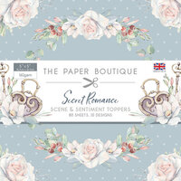 The Paper Boutique - Secret Romance Collection - 5 x 5 Sentiments Pad