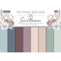 The Paper Boutique - Secret Romance Collection - Colour Card Collection