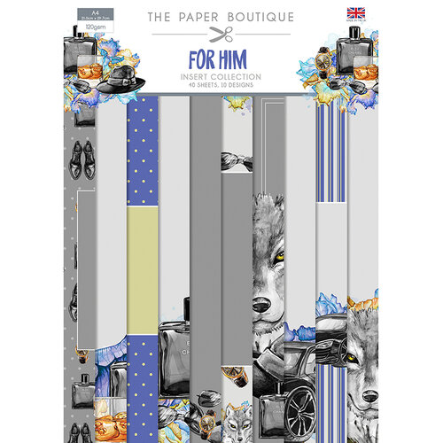The Paper Boutique - For Him Collection - Insert Collection